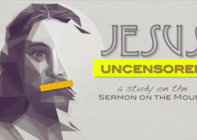 Jesus Uncensored: Jesus and Anxiety