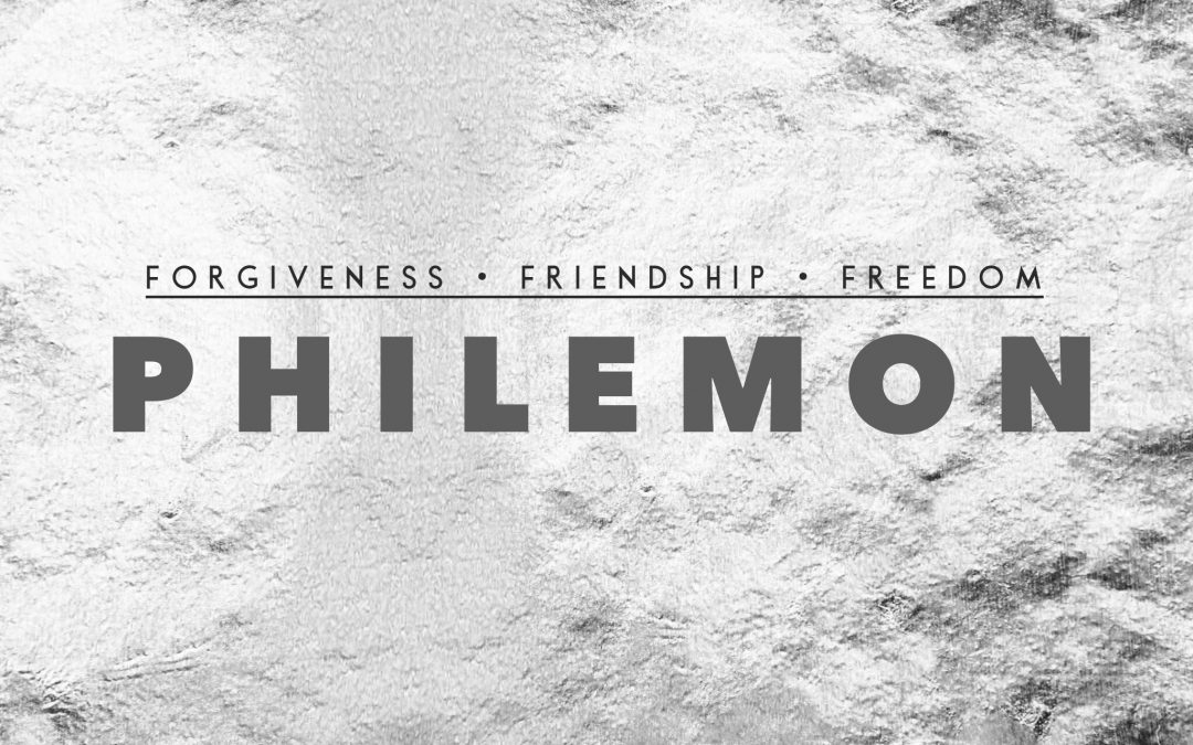 Why Philemon?