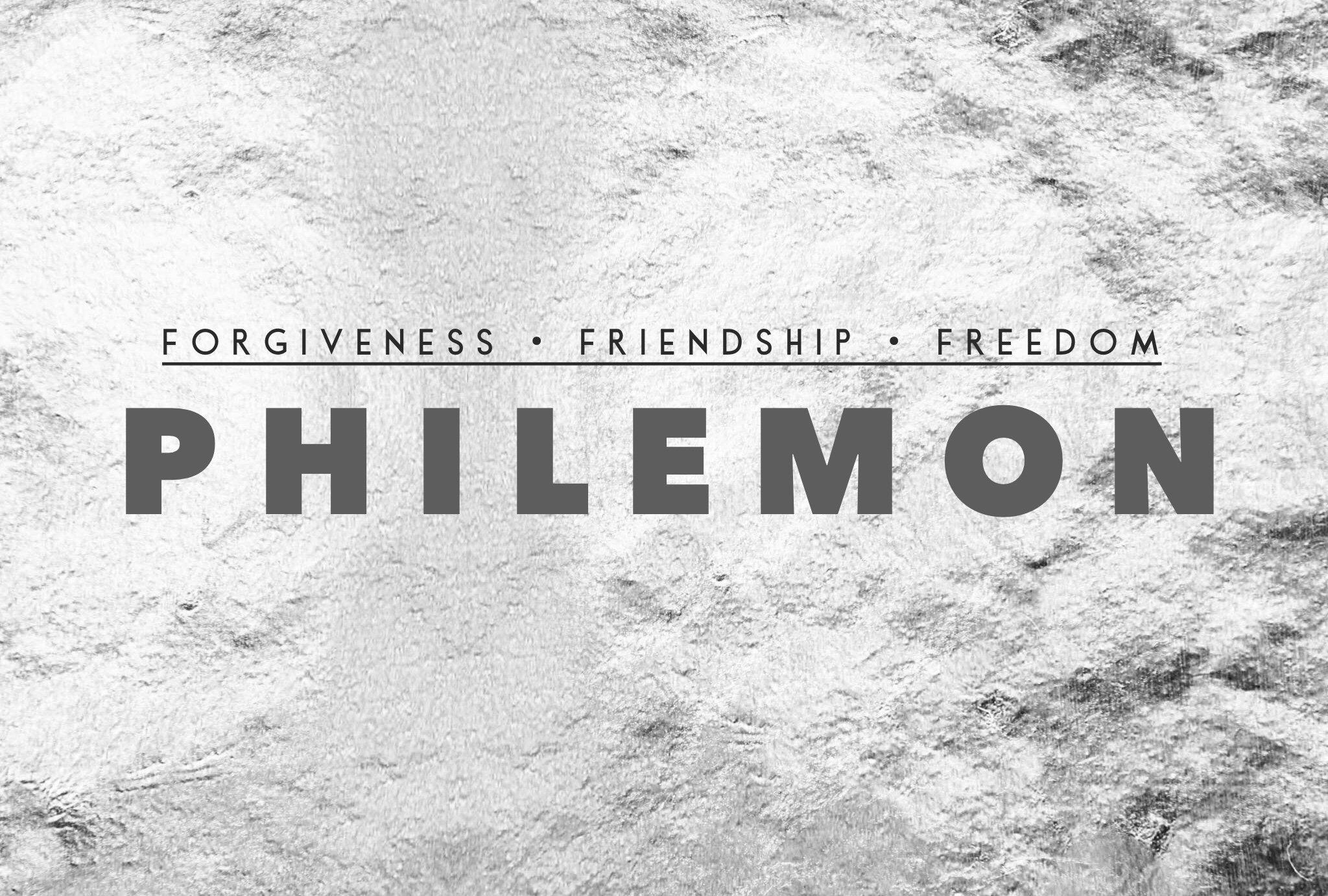 Philemon: Step #2 to Forgiveness | West Side Church