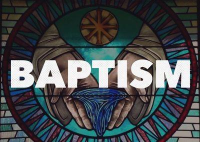 Baptism: Matthew 3:13-17