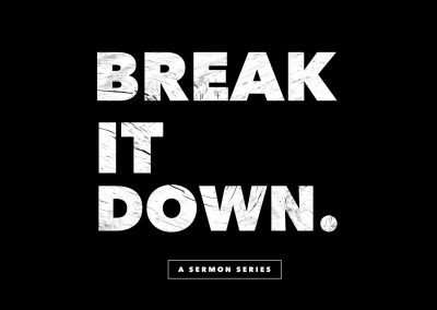 Break It Down: Everyone/ John 3:1-21