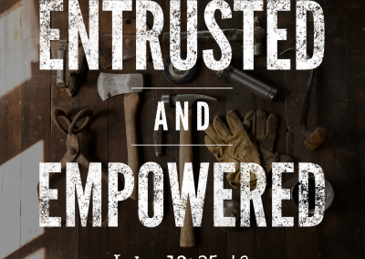 Entrusted and Empowered: Luke 12:35-48