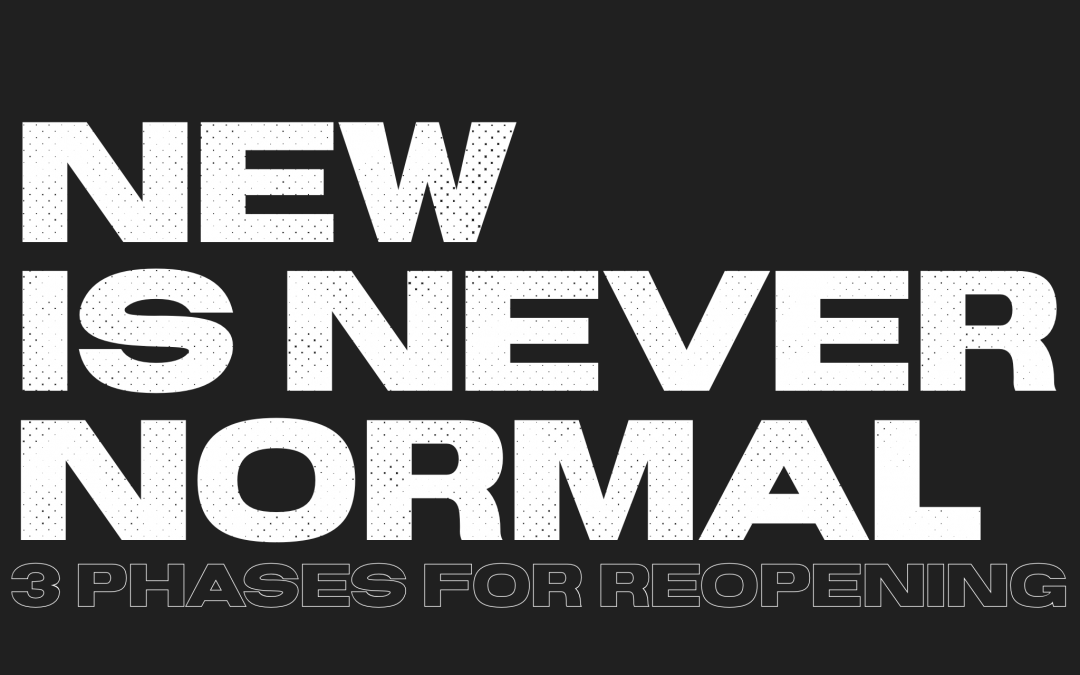 NEW IS NEVER NORMAL: Mark 2:18-22