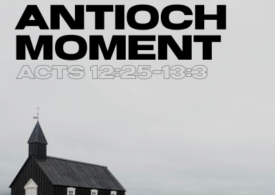 An Antioch Moment | Honoring and Sending Parker and Lindsey Williams
