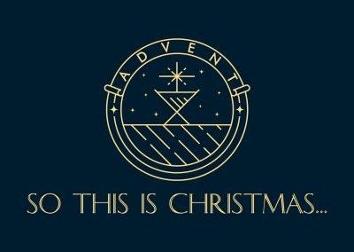 SO THIS IS CHRISTMAS   Week 3   Matthew 1:18-25